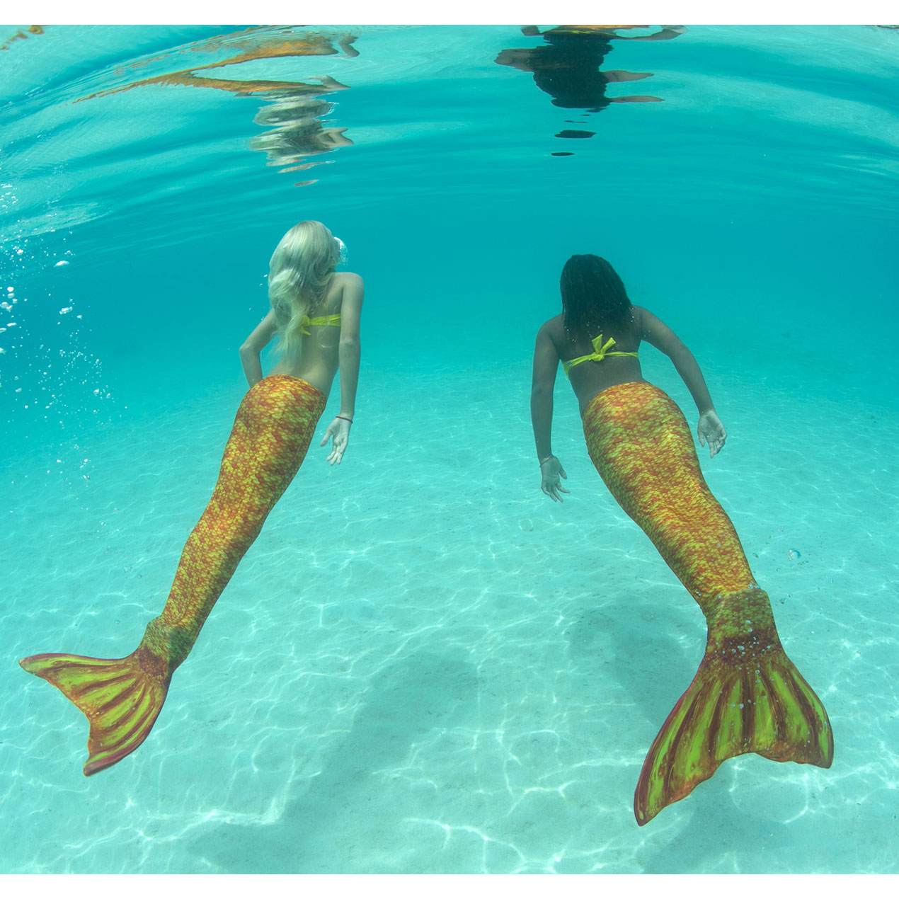 Kid Size Mermaid Tails For Swimming, Swimmable- Fin Fun