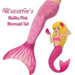 pink mermaid tail