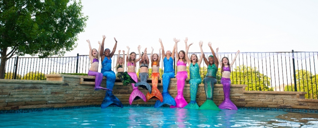 mermaid tail party