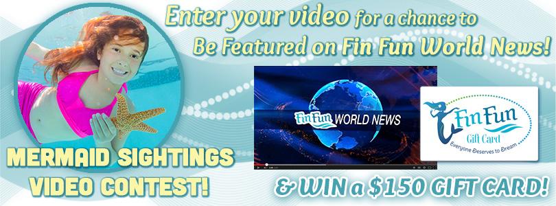 mermaid sightings video contest