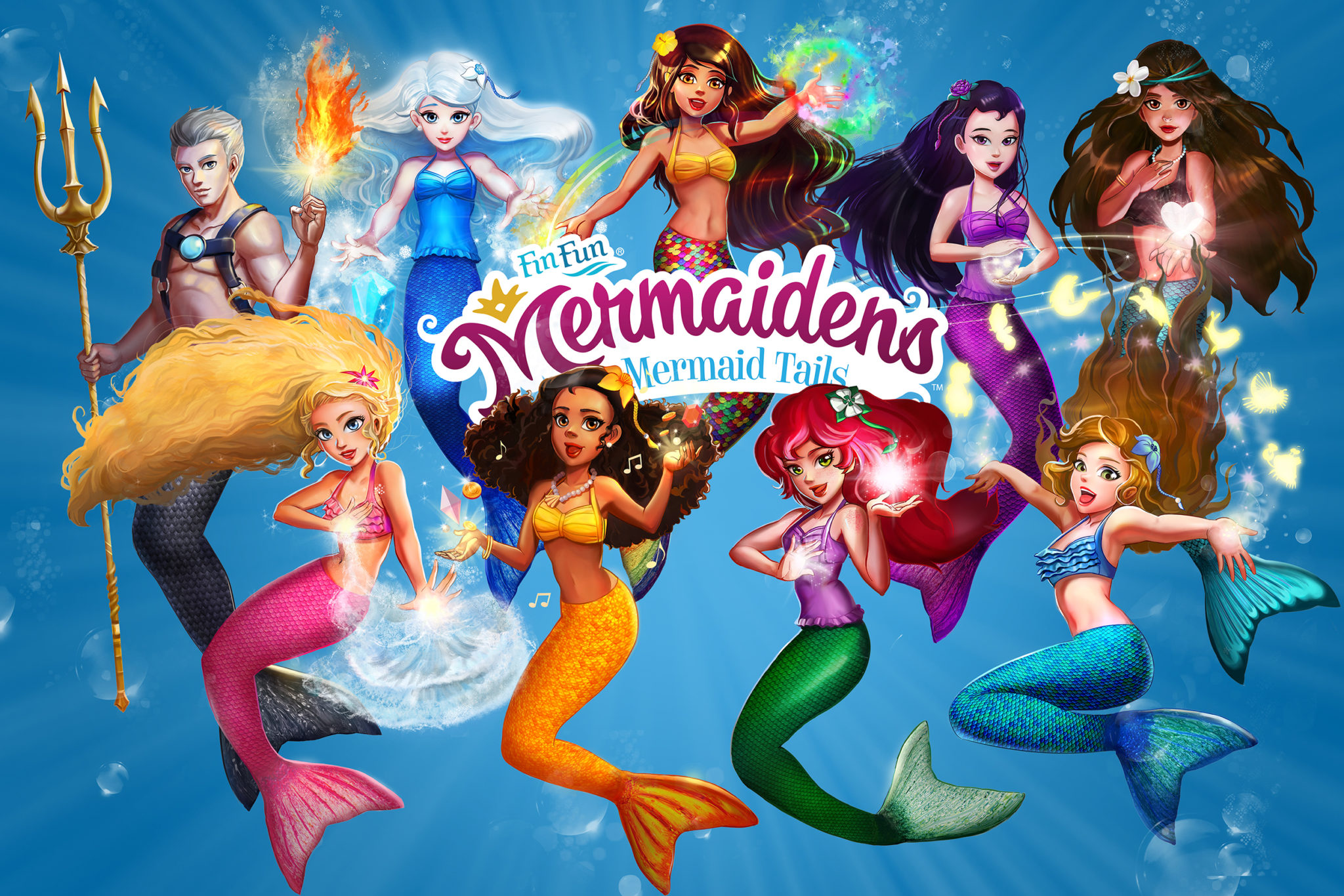 FinFriends Where Fin Fun Mermaidens Share And Play