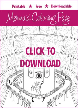 Mermaid Coloring Pages  Download and Print Free