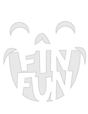 Halloween Pumpkin Carving Templates | FinFriends