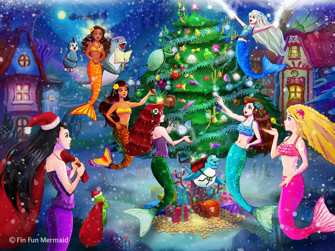 Christmas with the Mermaidens | FinFriends