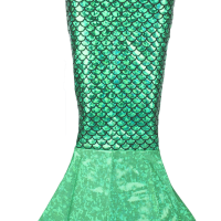 Ariel Green Toddler Tail