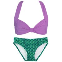 celtic-green-clamshell-bikini-set
