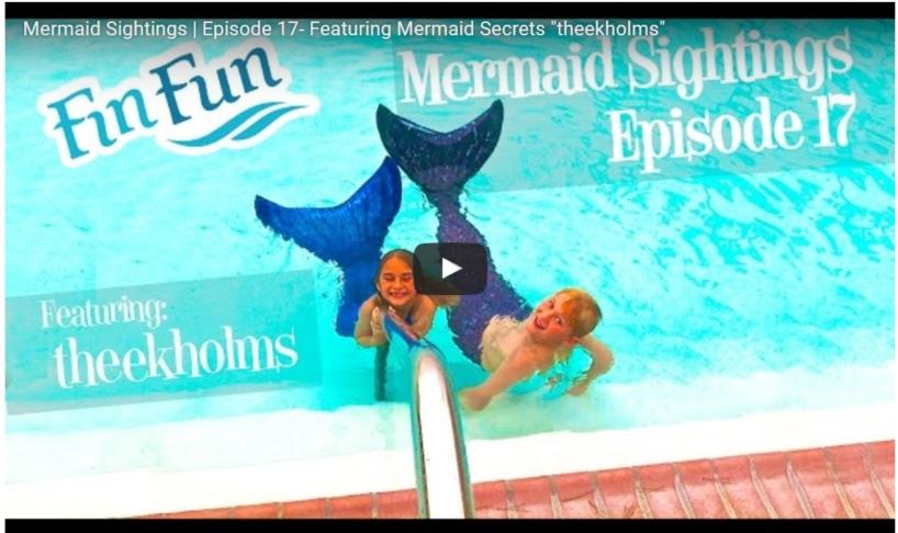 mermaid tail videos