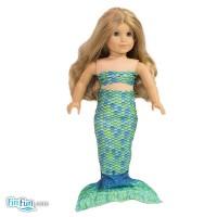 aussie-green-doll-mermaid-tail