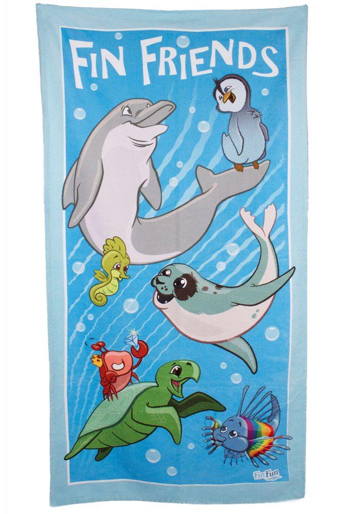 finfriends-beach-towel