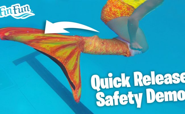 Mermaid Tail Video: Quick Release Demo