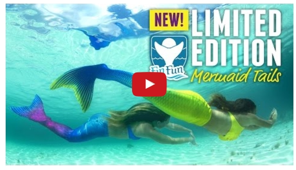 New Limited Edition Mermaid Tail Video