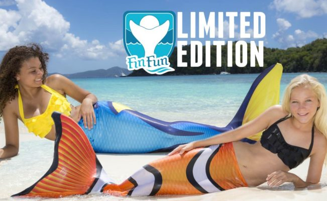 New Video: Limited Edition Mermaid Tails