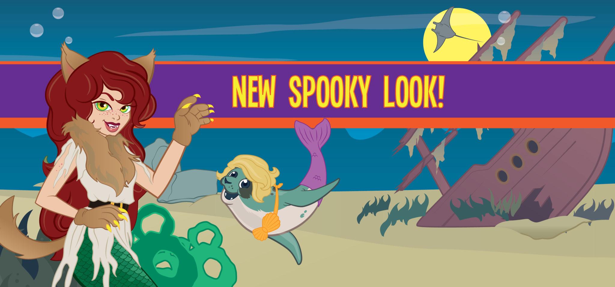 FinFriends Spooky Look!