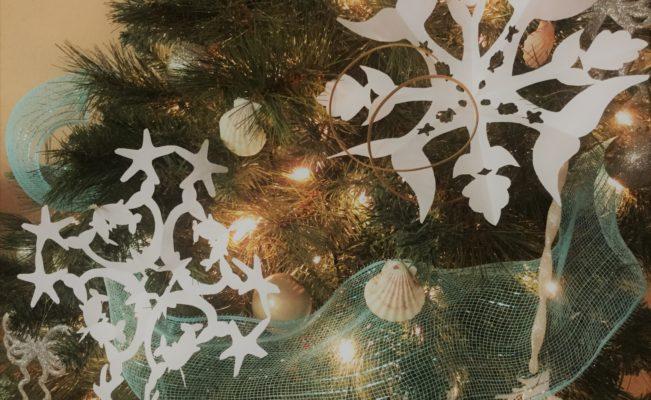 Let it Snow… Mermaid Snowflakes!