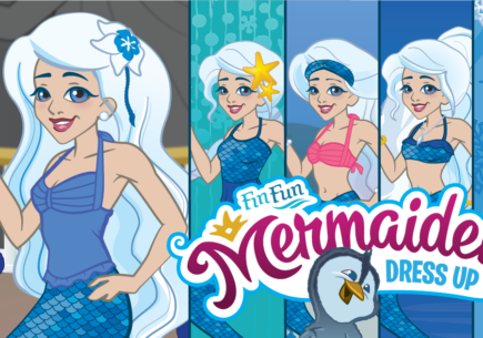 Mermaiden Crystal Dress Up Game