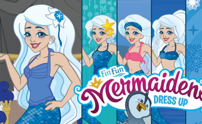 Mermaiden Crystal Dress Up Game