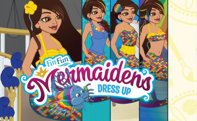 Mermaiden Serena Dress Up Game