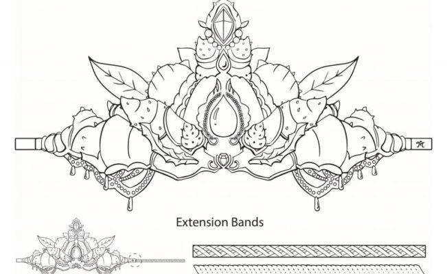 Printable Mermaid Crown