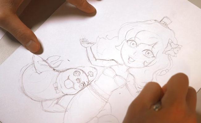 How To Draw a Mermaid- Brynn the Mermaiden