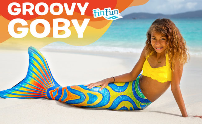 NEW Groovy Goby – Fin Fun Mermaid Tail (Limited Edition)