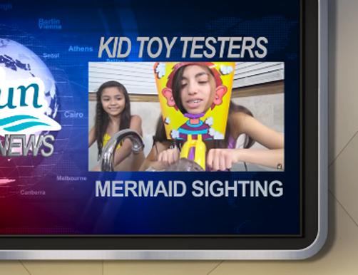 Mermaid Sightings Episode 20 | Feat. KidToyTesters – Octopus Challenge