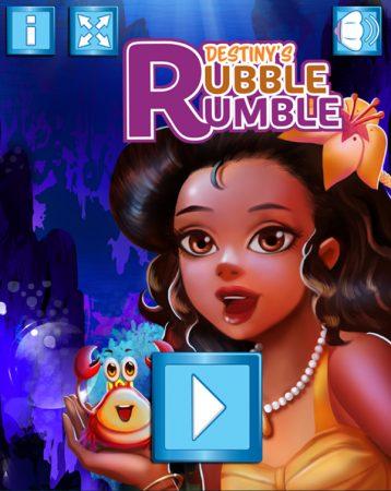 Destiny's Rubble Rumble mermaid game