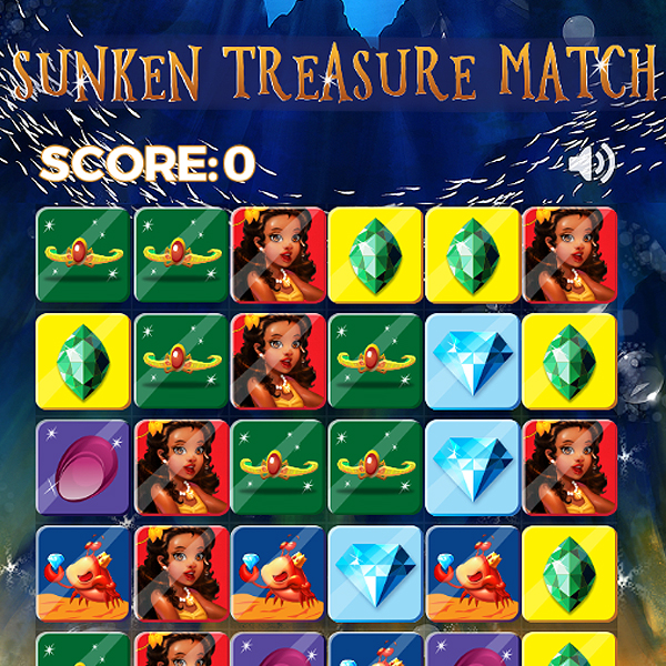 Sunken Treasure Match