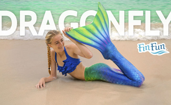 Dragonfly Mermaid Tail | Limited Edition