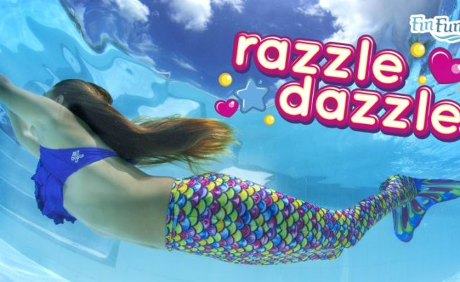 Razzle Dazzle Mermaid Tail | Limited Edition
