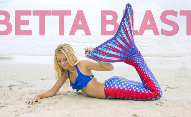 Betta Blast Mermaid Tail | Fin Fun
