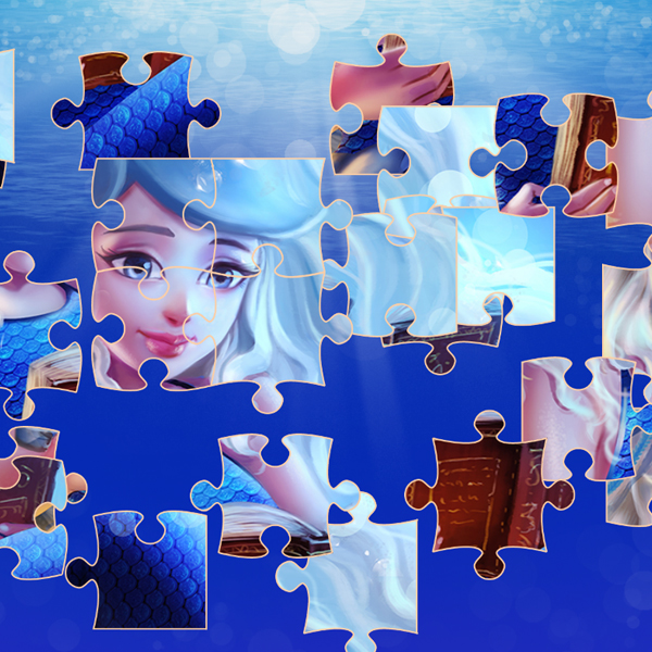 Mermaidens Jigsaw Puzzle