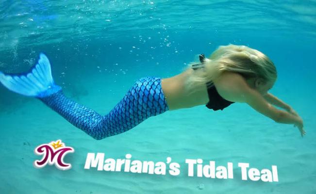 Tidal Teal Mermaid Tail