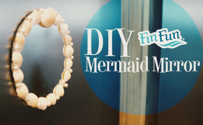 DIY – Mermaid Mirror Tutorial