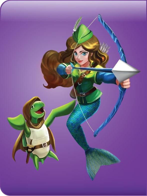 Fin Fun Mermaiden
