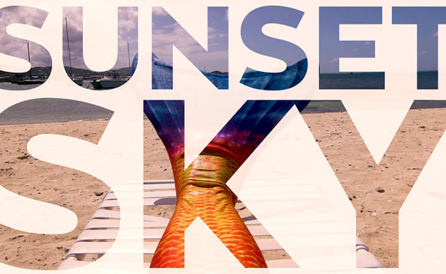 Sunset Sky Limited Edition Tail