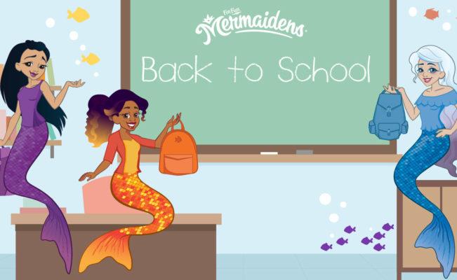 Mermaidens Back To School