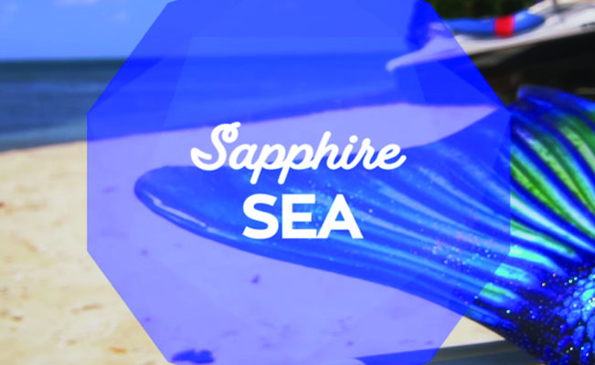 Sapphire Sea Limited Edition Mermaid Tail