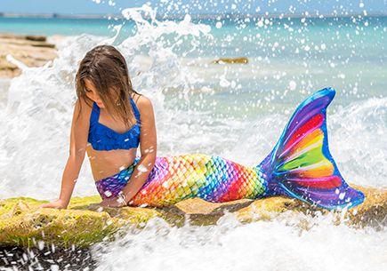 Rainbow Reef Mermaid Tail