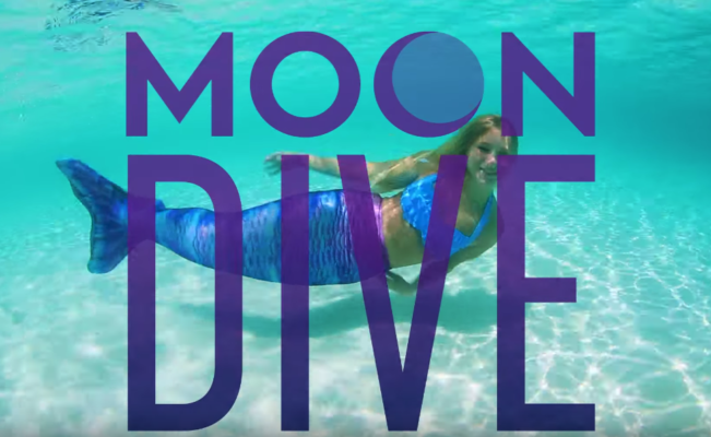 Moon Dive Limited Edition Mermaid Tail